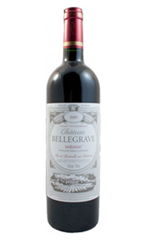 CHATEAU BELLEGRAVE MEDOC 2009