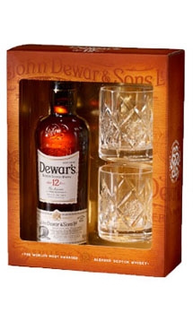 Dewar's 12 Year Old Gift Set