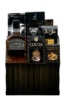 GENTLEMANLY DELIGHTS GIFT BASKET
