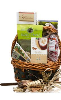 NATURALLY ORGANIC GIFT BASKET