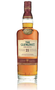 THE GLENLIVET 21 YEAR OLD SINGLE MALT
