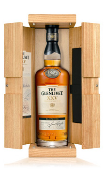 THE GLENLIVET XXV (25 YEAR OLD) SINGLE MALT