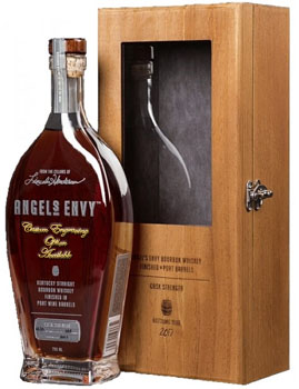 ANGEL'S ENVY KENTUCKY BOURBON CASK STRENGTH CUSTOM ENGRAVED