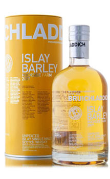 BRUICHLADDICH SCOTCH SINGLE MALT-ISLAY BARLEY 2007