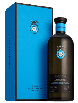CASA DRAGONES TEQUILA ANEJO BARREL BLEND - 750ML