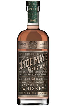 CLYDE MAY'S CASK STRENGTH 9 YEAR OL