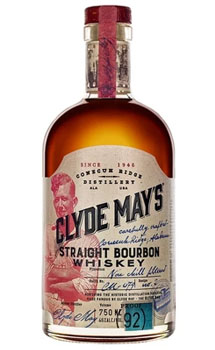 CLYDE MAY'S STRAIGHT BOURBON WHISKE