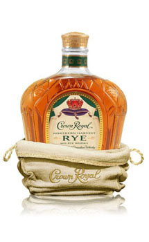 CROWN ROYAL CANADIAN RYE WHISKY NORTHERN HARVEST