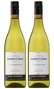 JACOB'S CREEK CHARDONNAY WINE - 2 B