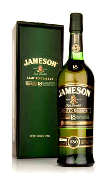 JAMESON IRISH WHISKEY 18 YEAR OLD L