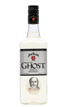 JIM BEAM WHITE WHISKEY JACOB'S GHOS