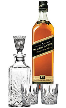 JOHNNIE WALKER BLACK LABEL SCOTCH C