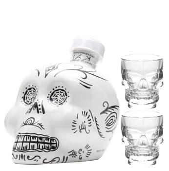 KAH TEQUILA BLANCO WITH 2 CRYSTAL S