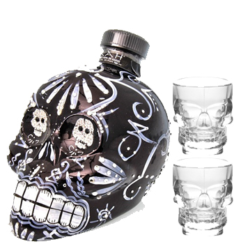 KAH TEQUILA EXTRA ANEJO WITH 2 CRYT