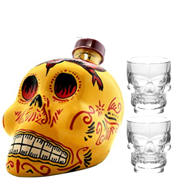 KAH TEQUILA REPOSADO WITH 2 CRYSTAL