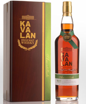KAVALAN SOLIST WHISKY SINGLE MALT AMONTILLADO