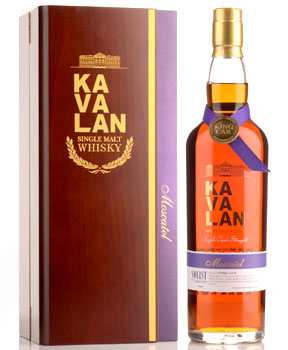 KAVALAN SOLIST WHISKY SINGLE MALT MOSCATEL