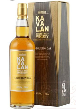 KAVALAN WHISKY SINGLE MALT EX-BOURBON OAK
