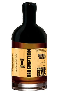 REDEMPTION RYE WHISKEY BARREL PROOF