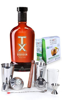COCKTAIL MIX KIT WITH TX BOURBON