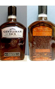 GENTLEMAN JACK RARE TENNESSEE WHISKEY CUSTOM ENGRAVED SPECTRE