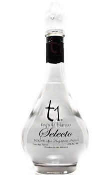 T1 TEQUILA BLANCO SELECTO