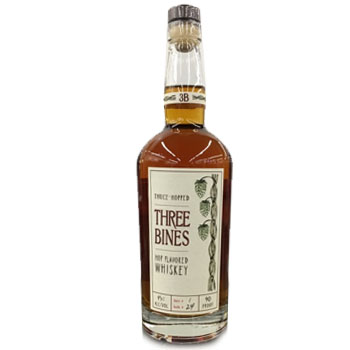 THREE BINES WHISKEY HOP FLAVORED
