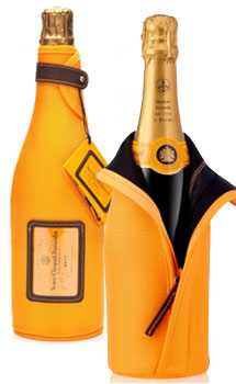VEUVE CLICQUOT YELLOW LABEL CHAMPAGNE ICE JACKET