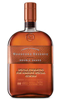 WOODFORD RESERVE DOUBLE OAKED BOURB